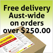 Free delivery for orders over $250.00